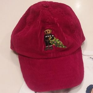 NWT Polo Ralph Lauren Kids Christmas Bear Hat